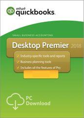 QuickBooks Premier 2018 - 1 user