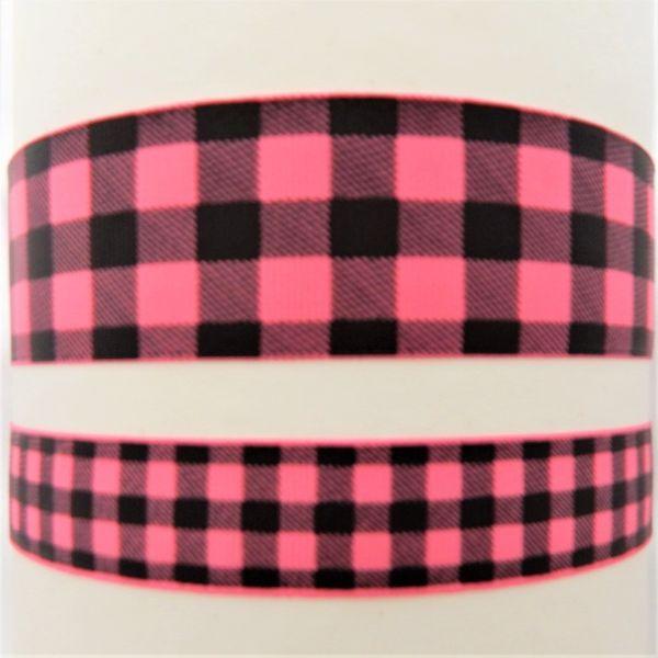Buffalo Plaid - Hot Pink