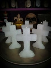 Crucifix/Cross Candle