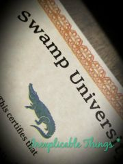Swamp University Course Certificate