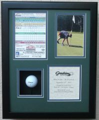 Hole In One Shadowbox with FOUR OPENINGS