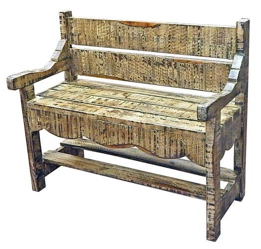 Black Cream Bench Tin Roof Home Decor And More