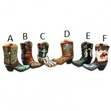 Cowboy Boot w/ Hole