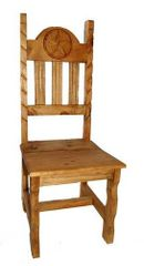 Rope Wood Seat Star Chair
