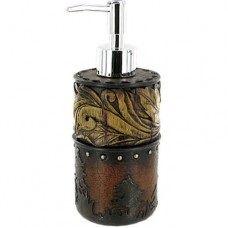 Wood Flower Cowboy Soap/Lotion Pump