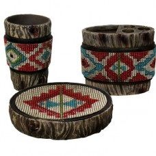 Aztec 3pc Bathroom Set