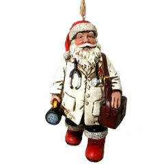 Doctor Santa Ornament