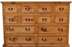 12 Drawer Mansion Dresser