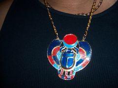 GP Khepra Pendant and Chain