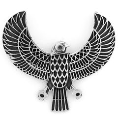 Sterling Silver Heru Pendant and Chain