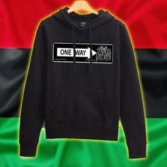 Queens Hoody - One Way/ Straight Pride