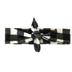 Buffalo Plaid Headband- Headbands of Hope