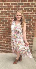 HiLo Floral Dress