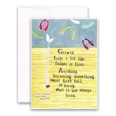 """Growth"" Greeting Card"