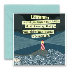 """Find Shelter"" Greeting Card"