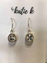 By Katie K Bezelled Earring