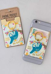 Phone Pocket Ring- Sloth
