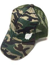 Camo Ohio Trucker Hat