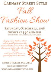 TICKETS- Fall Fashion Show