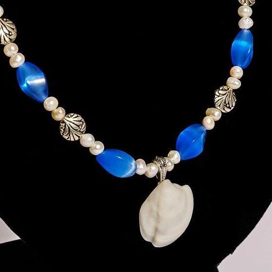 Make Your Own Seashell Jewelry: Florida Keys Seashell Pendant Necklace