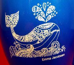 Bistro mug - 16oz customized with your kid's artwork!