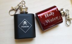 1 oz Personalized Key Chain Flask