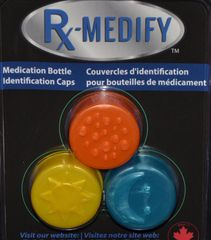 3 pack – Blue, Yellow, Orange