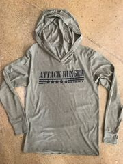 Attack Hunger SGT. David Bouvier Lightweight Hoodie