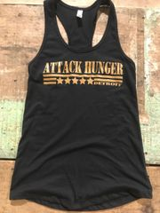 Women's Attack Hunger Golden Army Special Edition Tank