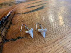 Attack Hunger Mako Shark Tooth Earrings