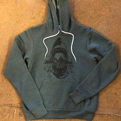 Forest Green Sharkstyle Hoodie