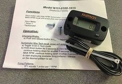 FASTACH Digital RPM Readout Steering Wheel Mounted