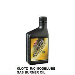 KLOTZ R/C MODELUBE® GAS BURNER® 2 Stroke Oil