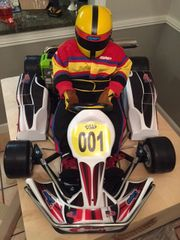 SALE! 2018 EVO-II 1/2 Scale R/C Kart W/Upgrades W/O RADIO