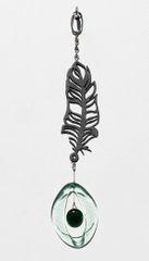 0815 Feather Metal Mini Chime
