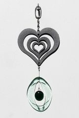 0812 Heart Metal Mini Chime