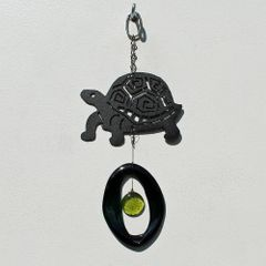 0832 Tortoise Metal Mini Chime