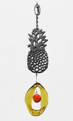 0814 Pineapple Metal Mini Chime