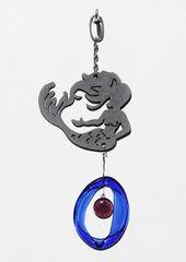 0820 Mermaid Metal Mini Chime