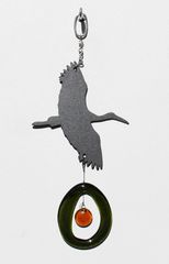 0819 Heron Metal Mini Chime