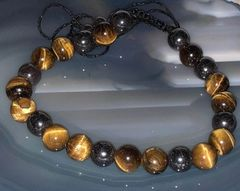 Life Force Repair - Complete Aura and Soul Cleansing and Repair - Creates Path To Happiness Banishes All Negative - Tiger's Eye!