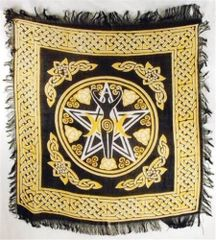 Goddess Altar Cloth - Amplifies Magick, Spirits and Spells - Unbound protection!