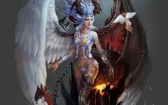 Most Powerful and Successful Warrior - Bound Demon Warrior Archangel Hybrid - Banishes All Evil