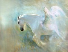 Happy New Year - Mature Level 7 Pegasus Astral Guide Who Cleanses Negativity Brings Psychic Blessings & More
