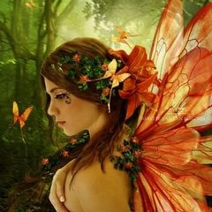 Mickella Cin Fairy - The Fae Who Brings Great Financial Opportunities, Success, Psychic Senses, Friends and Glamours