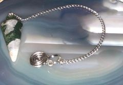 SUPER SALE Powerful Spell Cast Pendulum Allows For Instant Spirit Communication - Added Unbound Protection