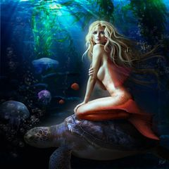 Ayane - Newly Conjured Mermaid Specializes In Youth and Sex Magick