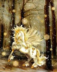 Baby Gold Unicorn - High Active Female Seeks Keeper To Love, Protect and Bless - Offers Debt Removal