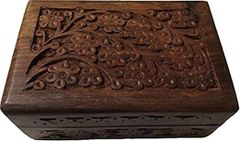 God, Royal and Daemon Recharging, Bonding and Offering Wood Box 6x4 Rosewood