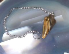 Instant Spirit Communication Spell Cast Pendulum - Find Answers! - Cherry Quartz